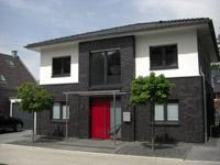 Stadtvilla klinker grau  Mein Eigenheim Massivhaus bauen Erfahrung Niedrigenergiehaus ...