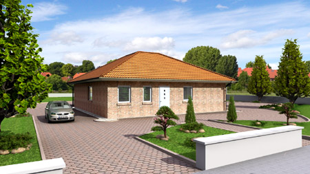 bungalow fertighaus massivhaus winkelbungalow hausbau. Black Bedroom Furniture Sets. Home Design Ideas