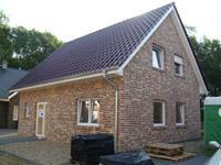 Einfamilienhaus neubau satteldach klinker  Bauunternehmung Bauunternehmer Bauträger Massivbau Massivhaus ...
