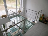 mein eigenheim massivhaus bauen erfahrung niedrigenergiehaus ... - Wohnzimmer Mit Galerie Modern