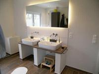 waschtisch mit holzplatte designer waschtisch zwei. Black Bedroom Furniture Sets. Home Design Ideas