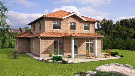 Musterhaus stadtvilla mit garage  Fertighaus Massivhaus Hausbau Selm Bork Cappenberg Brambauer Olfen ...