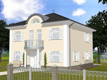 Sprossenfenster stadtvilla  hausbauen-stadtvilla-schuettorf-p1.jpg (450×338) | Häuser ...