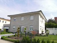 Stadtvilla klinker dunkel  Massivhaus Massivhäuser KfW 55 KfW 70 Effizienzhaus ...