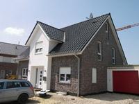 Einfamilienhaus neubau modern klinker  Massivhaus Massivhäuser KfW 55 KfW 70 Effizienzhaus ...