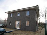 Stadtvilla klinker grau  Massivhaus bauen, Rohbauten, im Bau befindliche Häuser, KfW ...